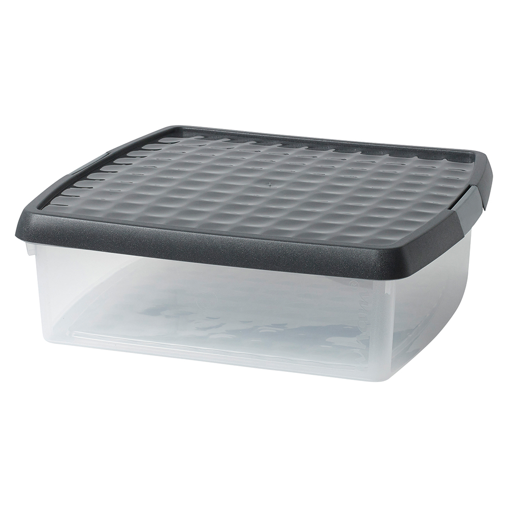 Business Premium Clip Box Plastic 13.2 Litre