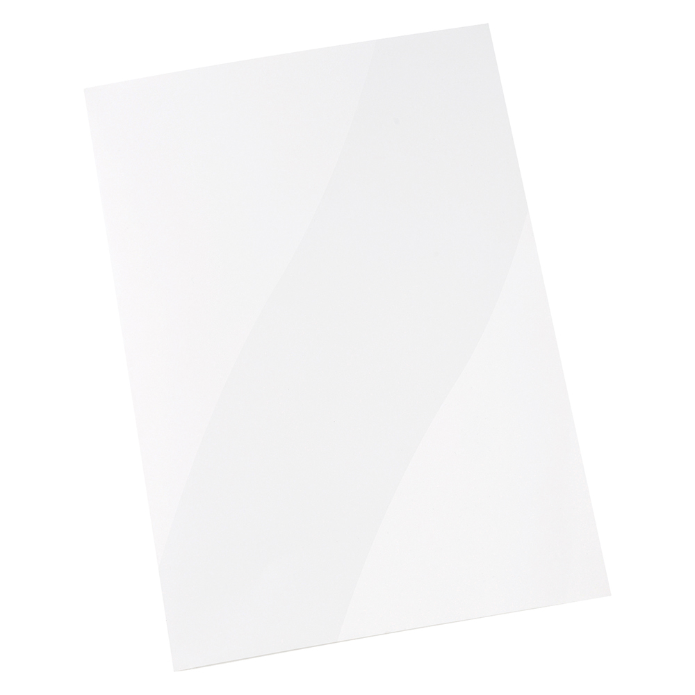Image for Business Corporate Presentation Folder A4 Gloss White [Pack 50]