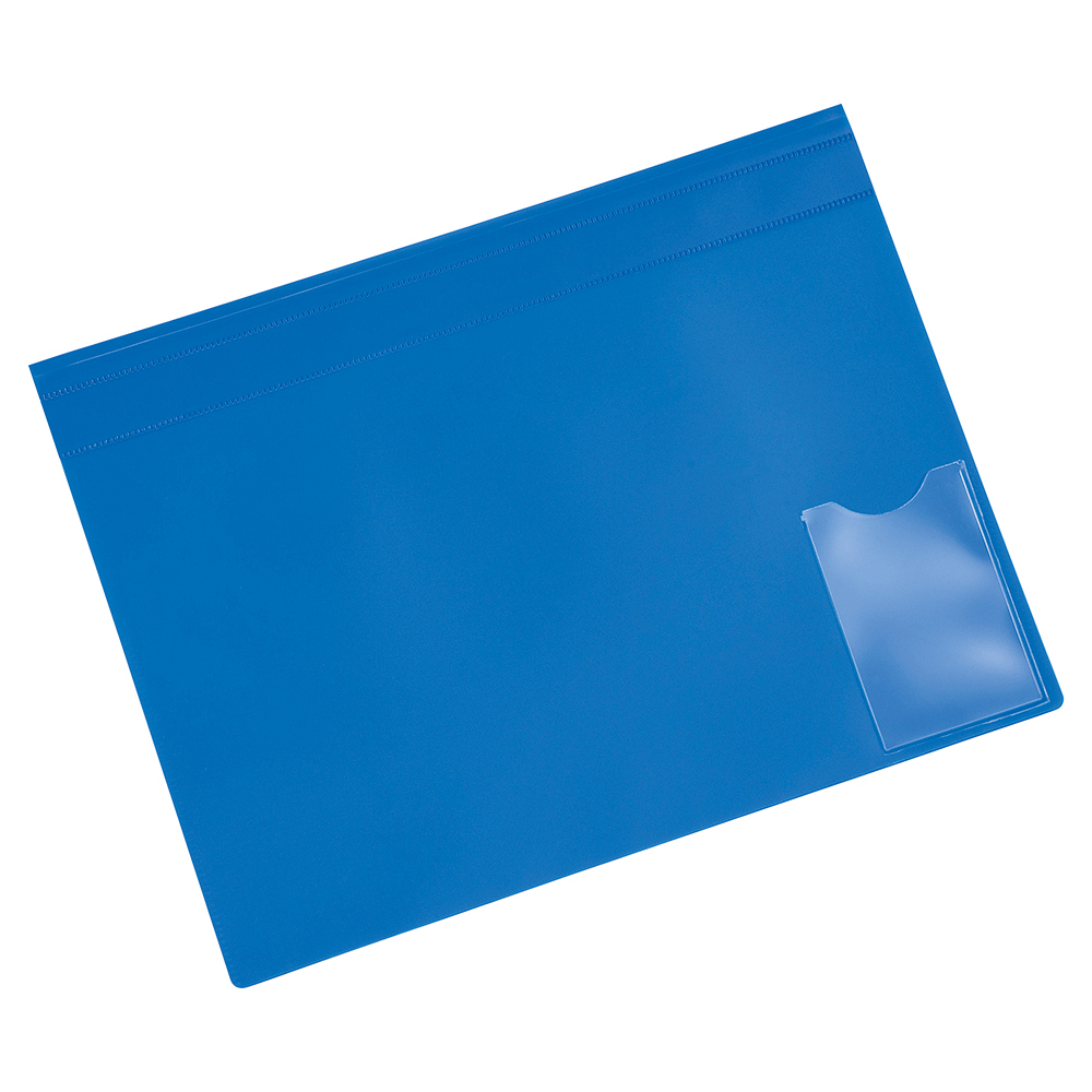 Image for Business Executive Flat File Semi-rigid Opaque Cover A4 Blue [Pack 5]