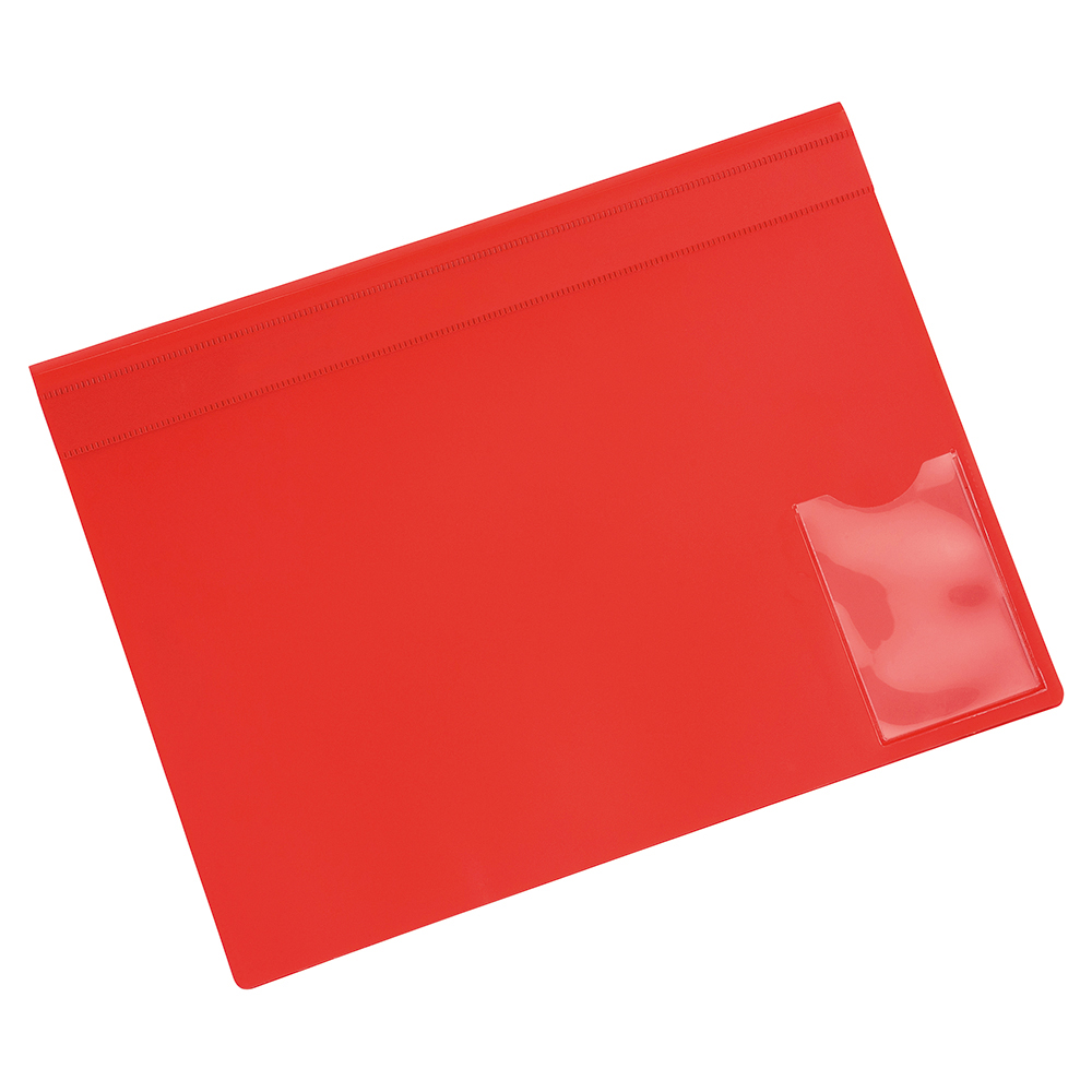 Image for Business Executive Flat File Semi-rigid Opaque Cover A4 Red [Pack 5]