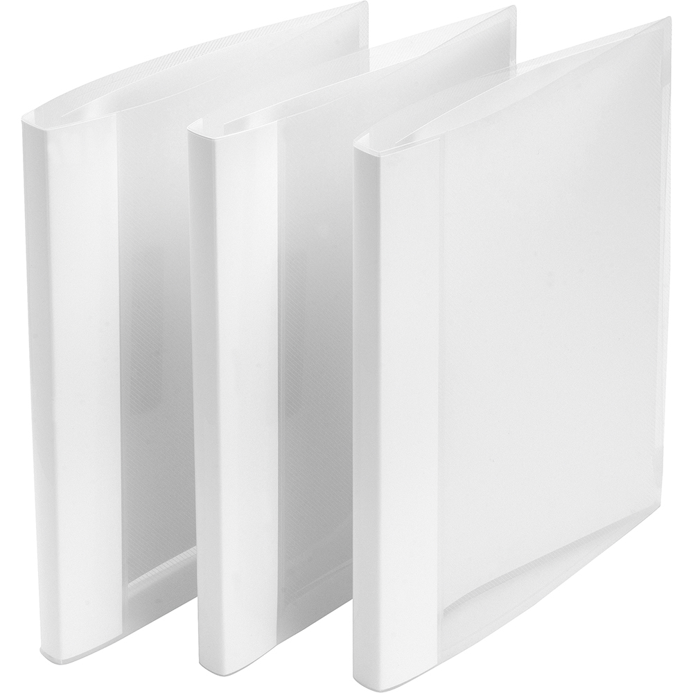 Image for Business Clamp Binder Polypropylene Clear [Pack 10]