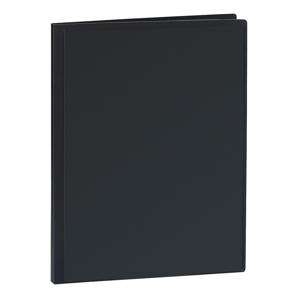 Business Display Book Rigid Cover Personalisable Polypropylene 20 Pockets A4 Black