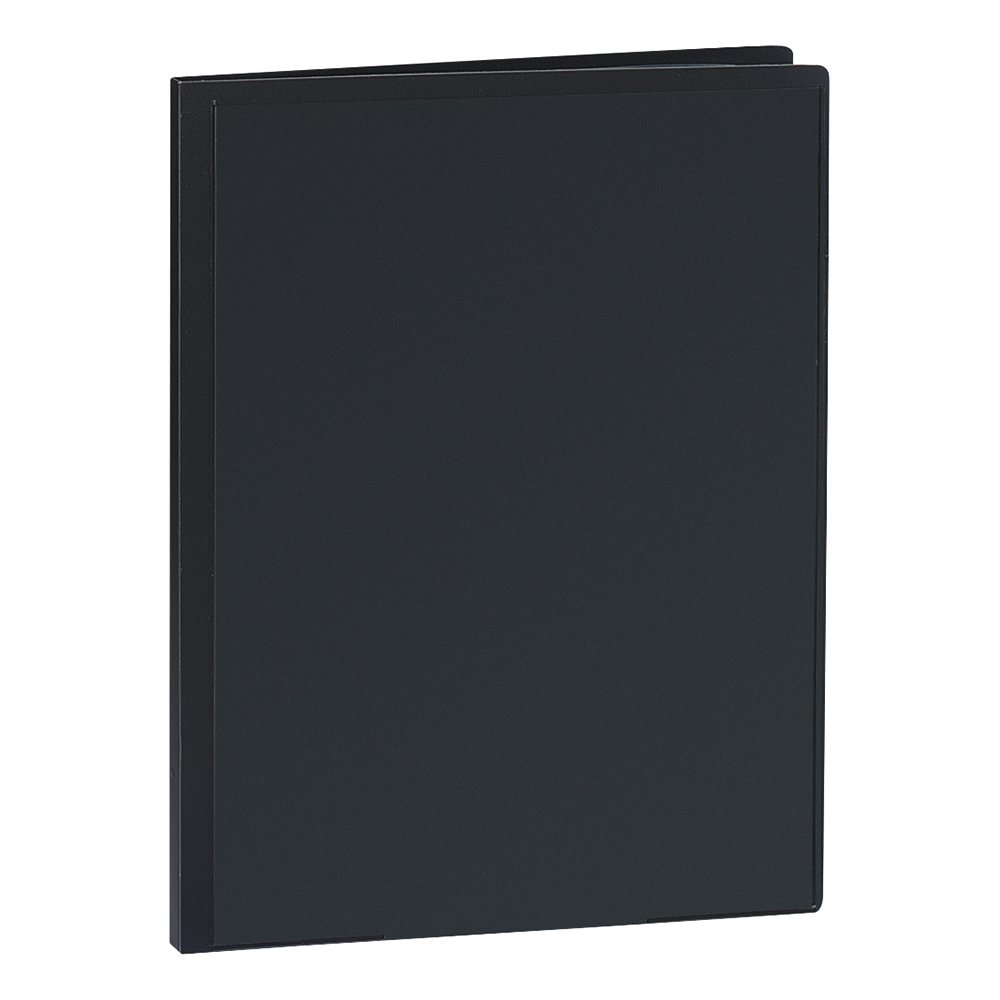 Business Display Book Rigid Cover Personalisable Polypropylene 30 Pockets A4 Black