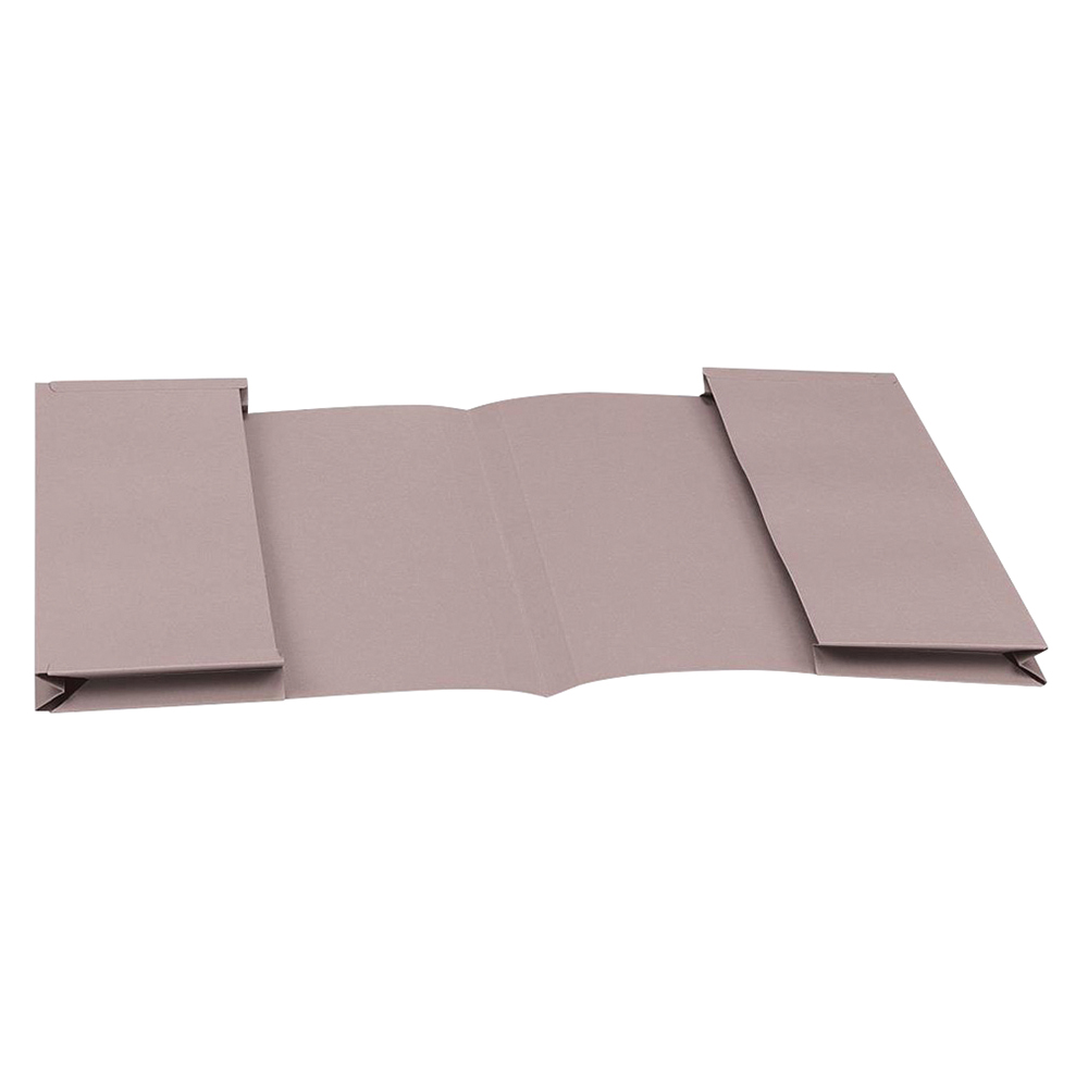Image for Business Eco Double Pocket Wallet 285gsm Foolscap Recycled Buff [Pack 25]
