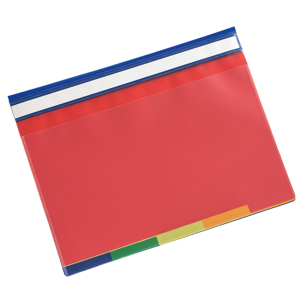 Image for Business Part File 5-Part Coloured Tabs A4 Clear