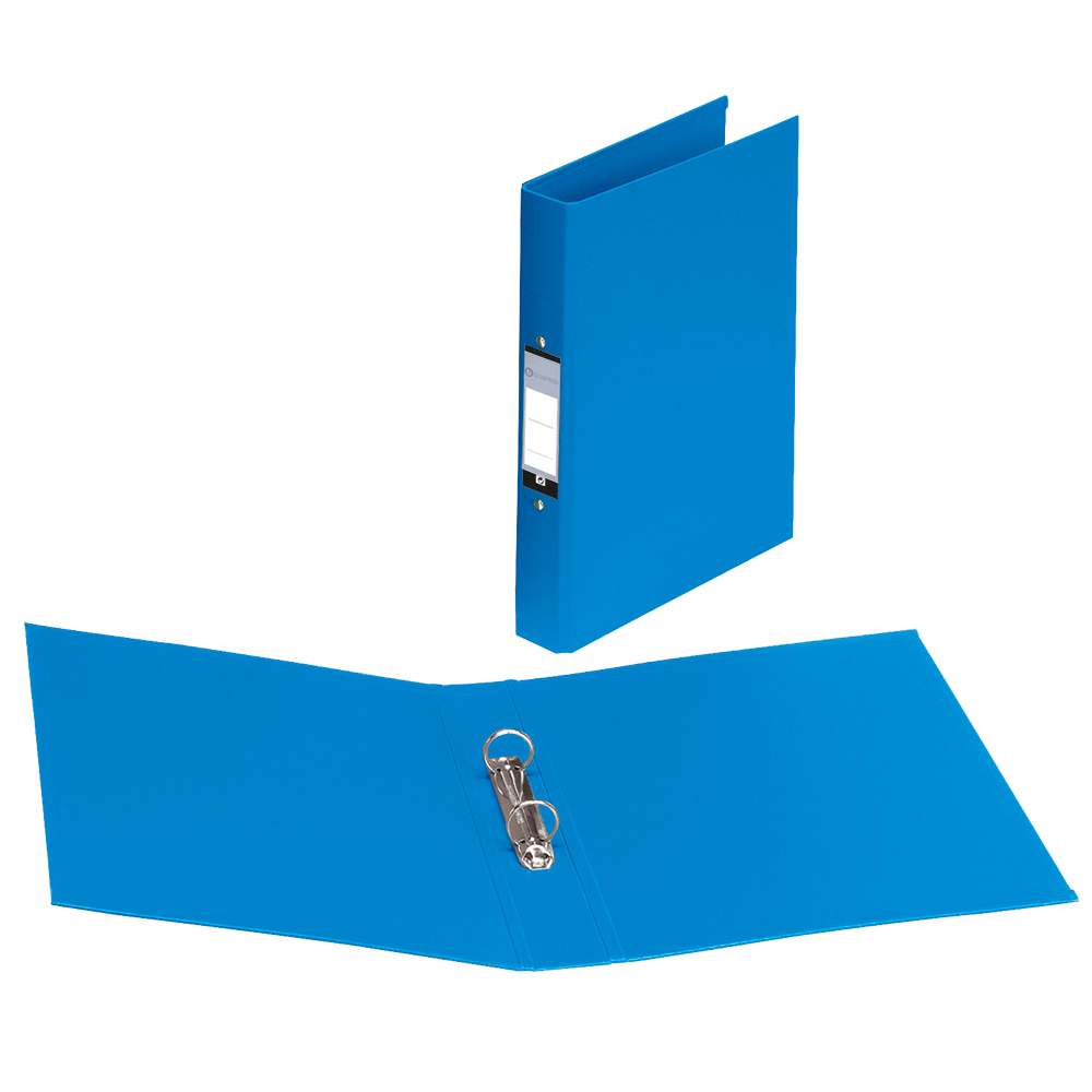 Business Ring Binder 2 O-Ring Size 25mm Polypropylene A4 Blue [Pack 10]