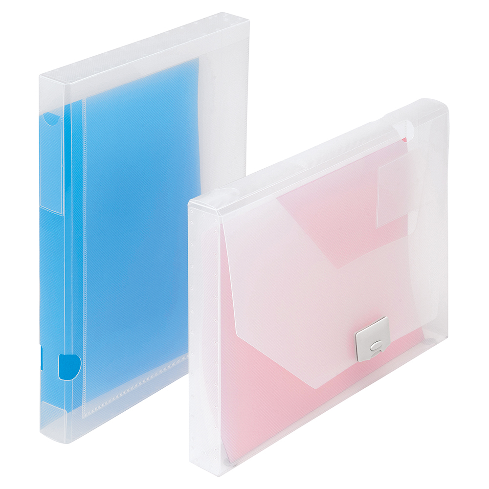 Image for Business Document Box Polypropylene 30mm A4 Clear [Pack 10]