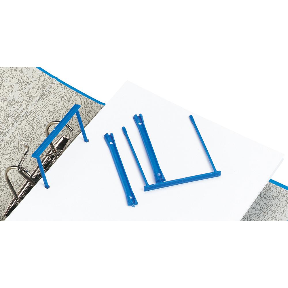 Image for Business Filing Clip Polypropylene Blue [Pack 10]