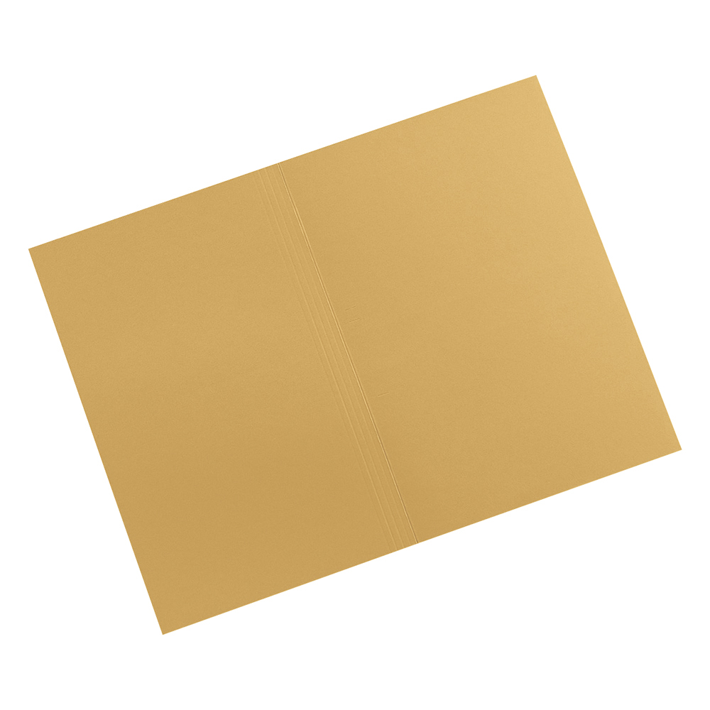 Image for Business Premium Square Cut Folders Manilla 315gsm Foolscap Yellow [Pack 100]