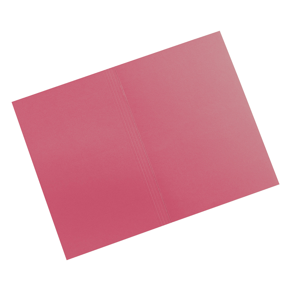 Image for Business Premium Square Cut Folders Manilla 315gsm Foolscap Red [Pack 100]
