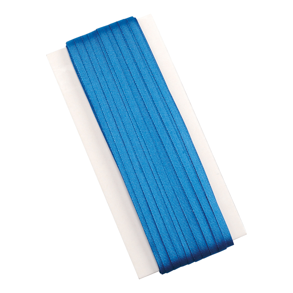 Image for Business Legal Tape Silk Braids 6mm x 50m Blue