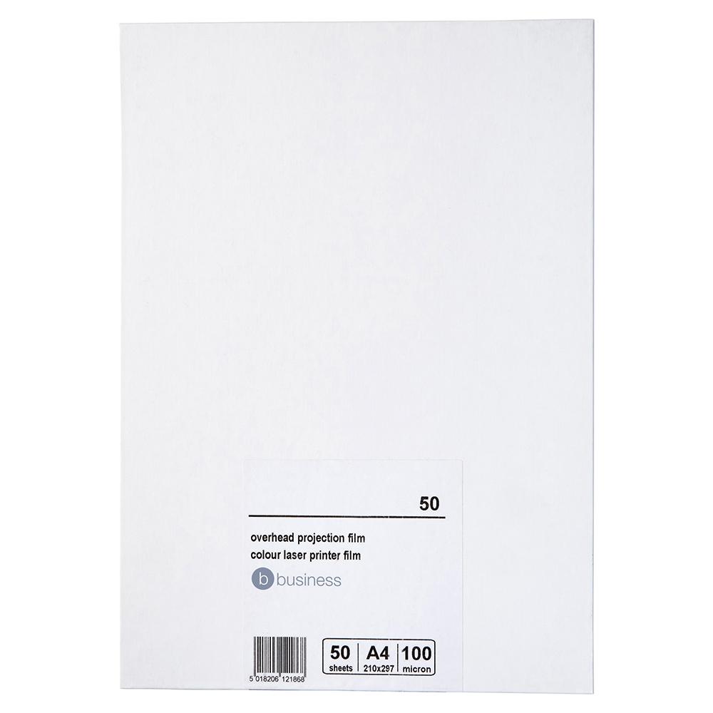 Business OHP Film Colour Printer 100 Micron [Pack 50]