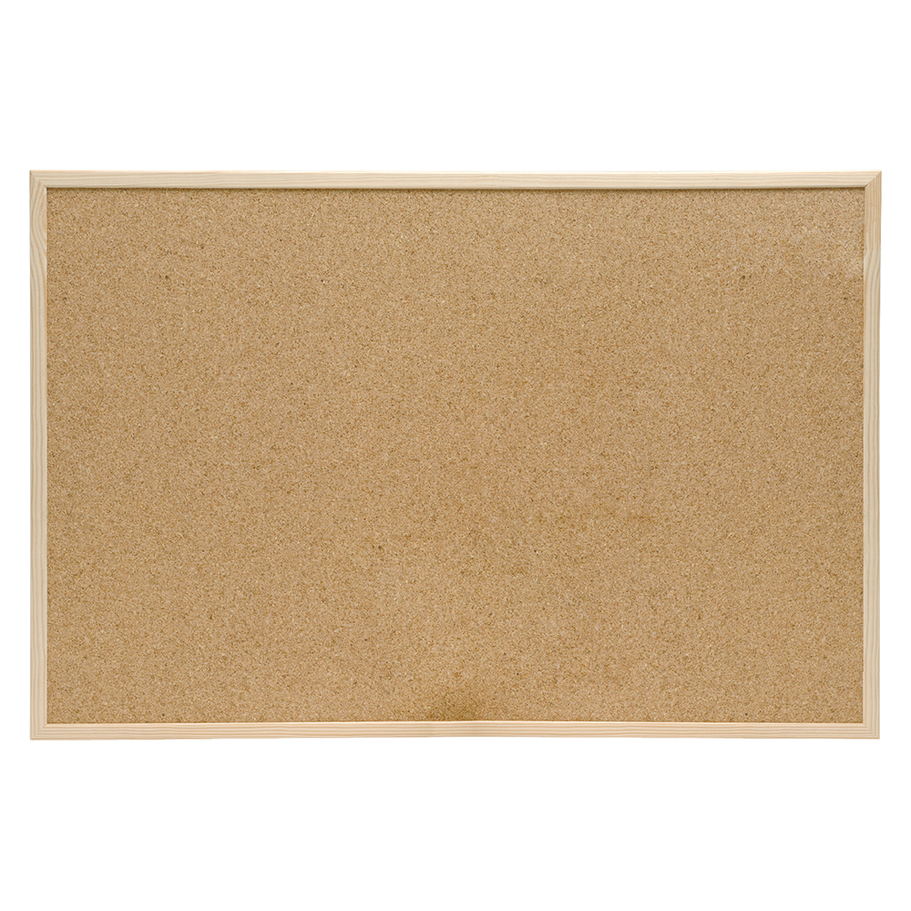 Business Eco Cork Board Pine Frame W1200xH900mm