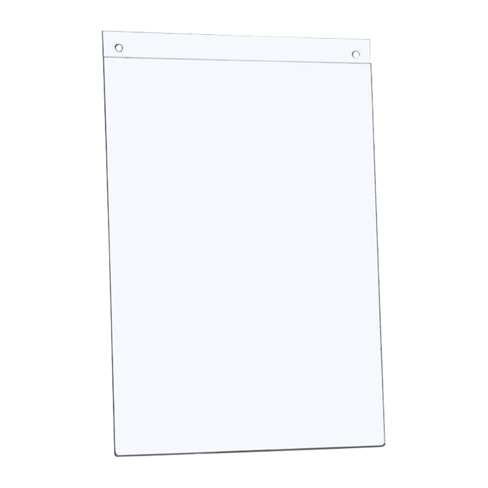 Image for Business Sign Holder Wall Display Portrait A4 Clear