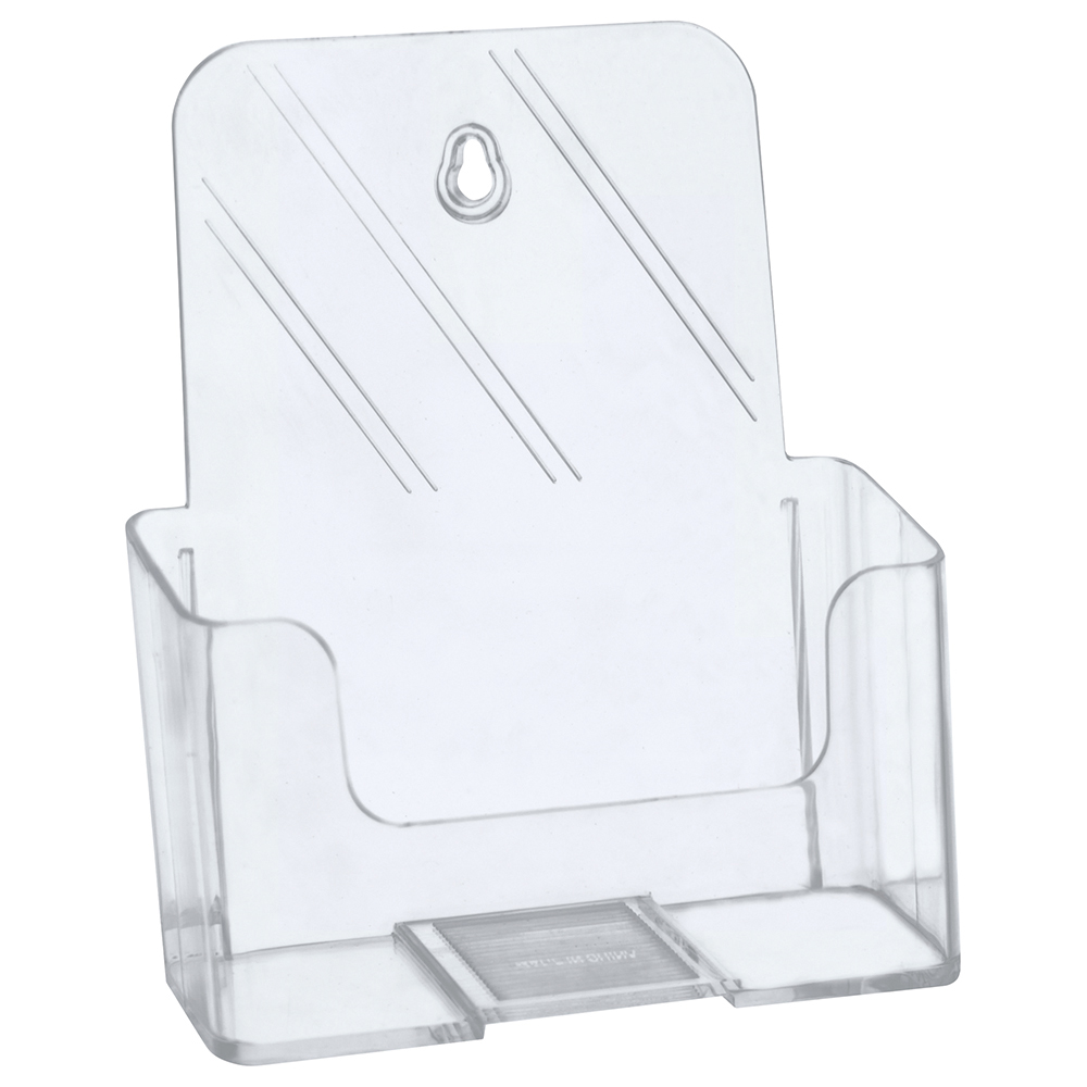 Image for Business Literature Holder Slanted A5 Clear