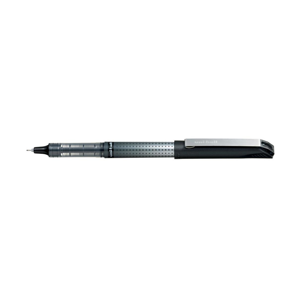 Uni-ball UB-185S Eye Needle Rollerball Pen 0.5mm Tip Black Ref 125930000 [Pack 12]