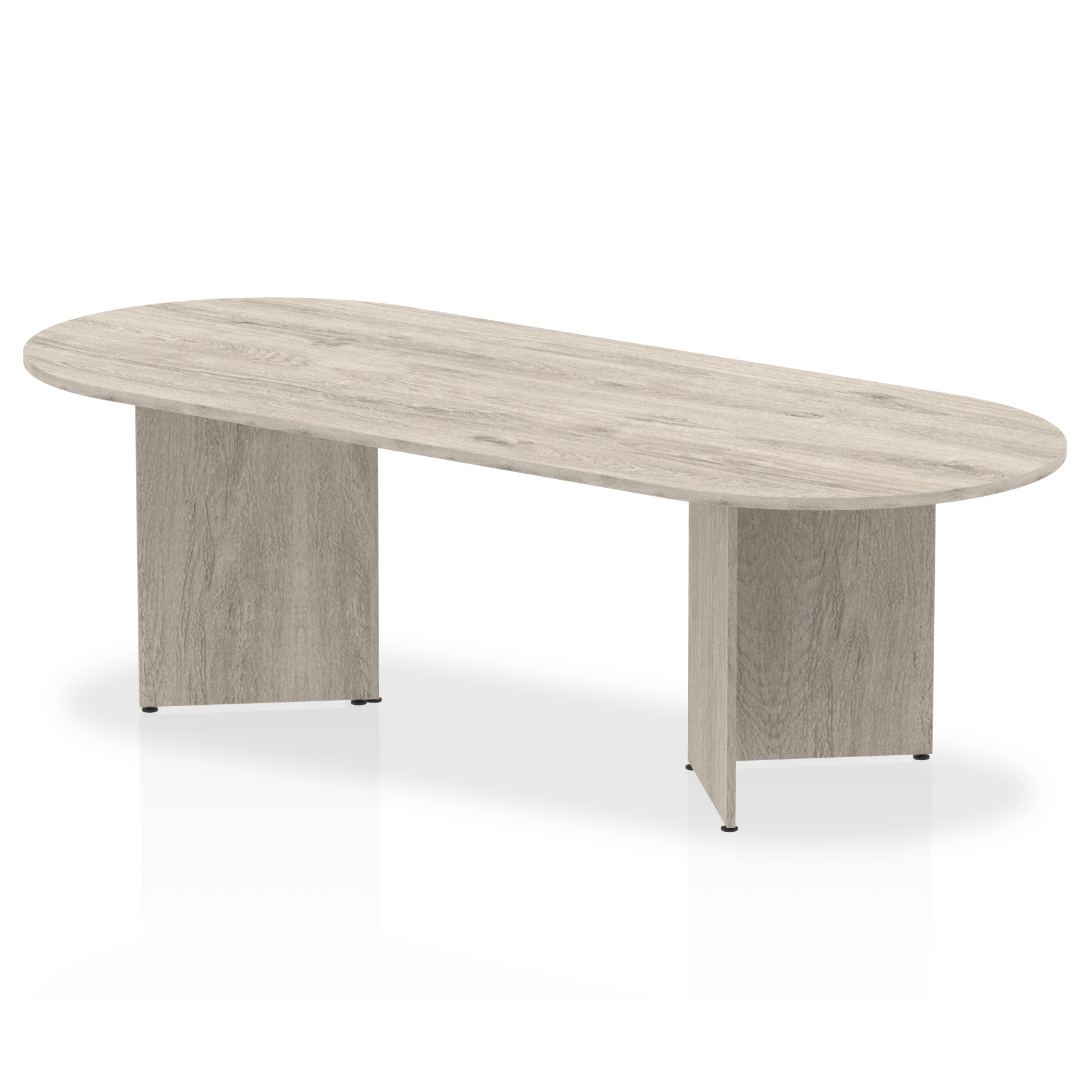 Tables Trexus Boardroom Table Arrowhead 2400x1200x730mm Grey Oak Ref I003278