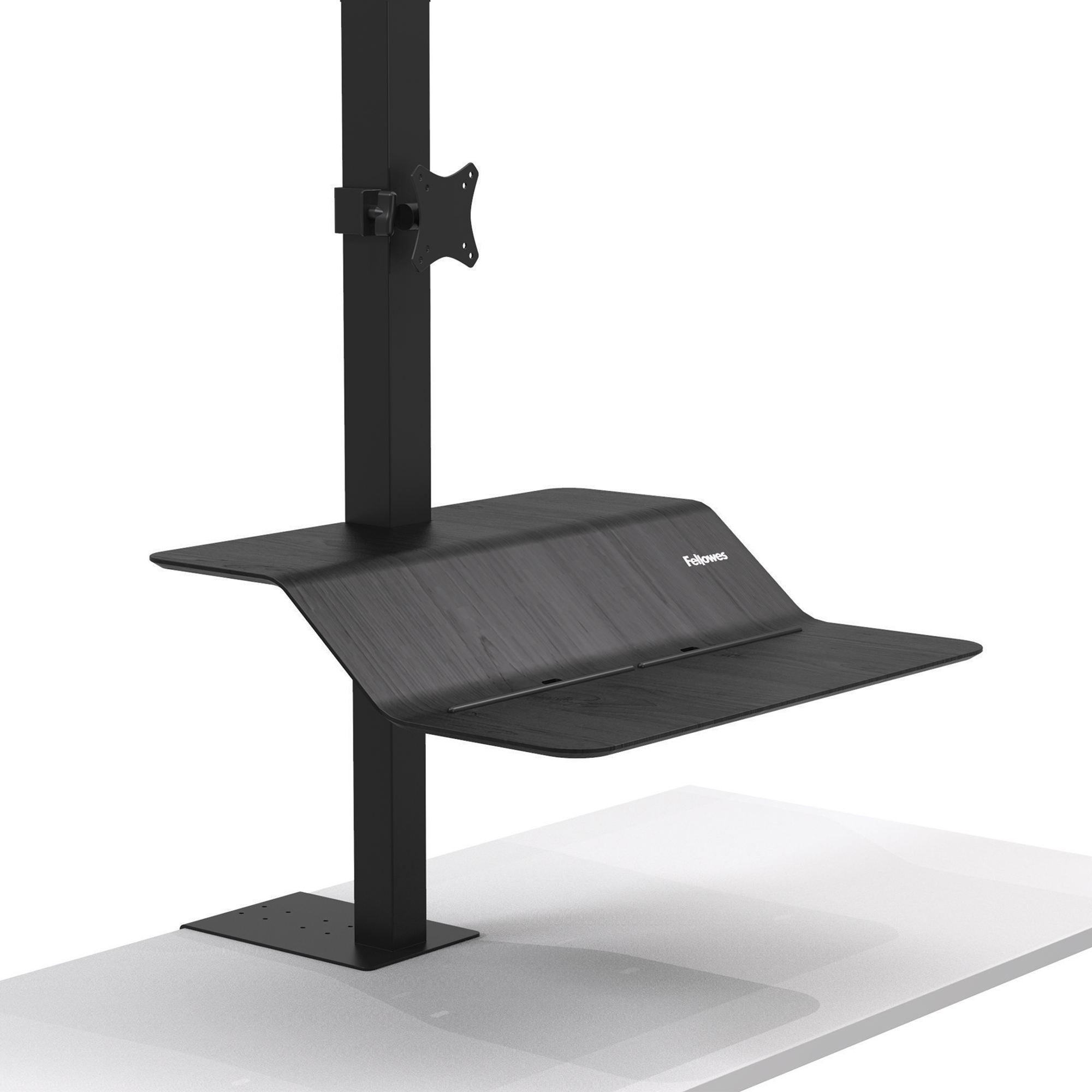 Desktops Fellowes Lotus VE Sit-Stand Workstation Single Ref 8080101
