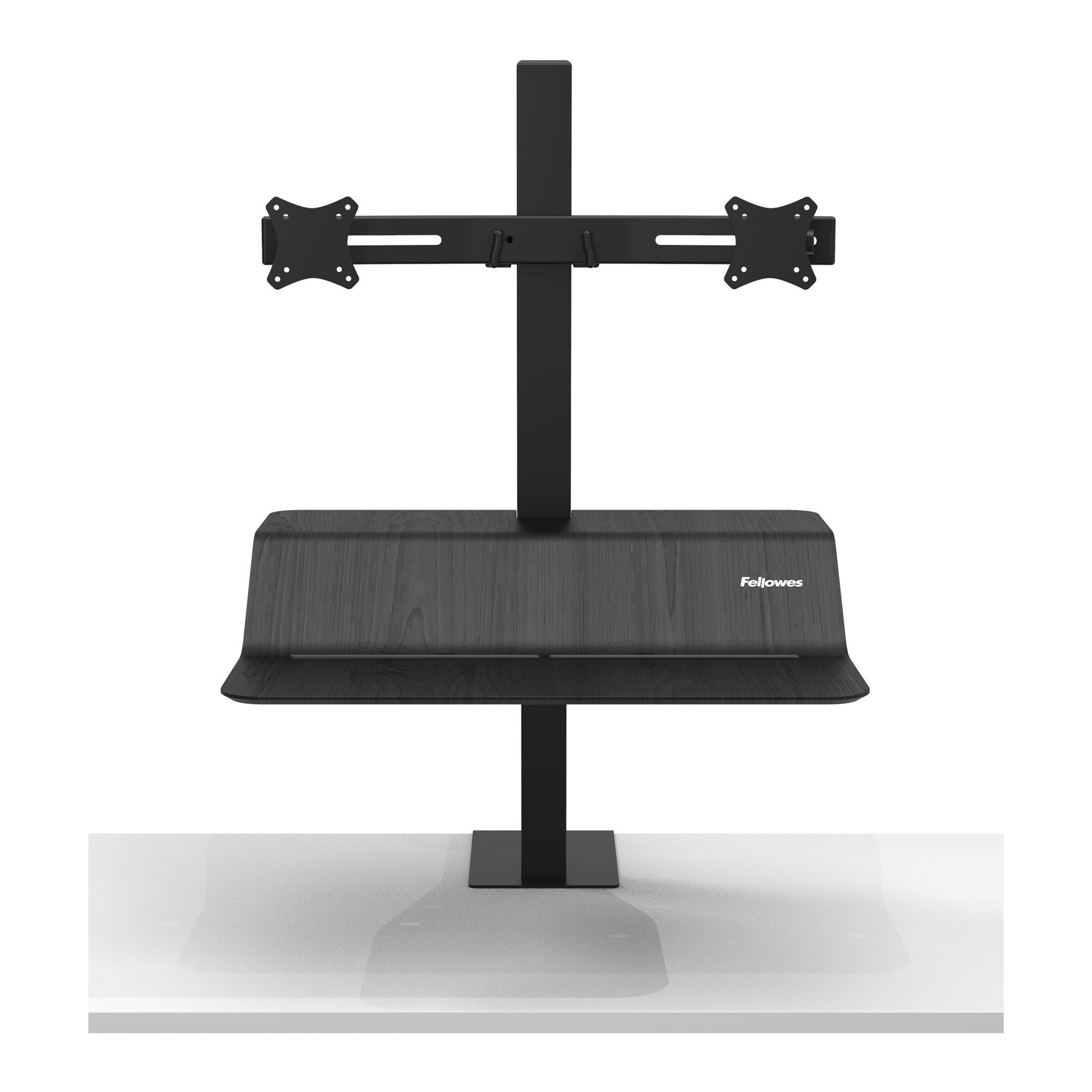 Desktops Fellowes Lotus VE Sit-Stand Workstation Dual Ref 8082001