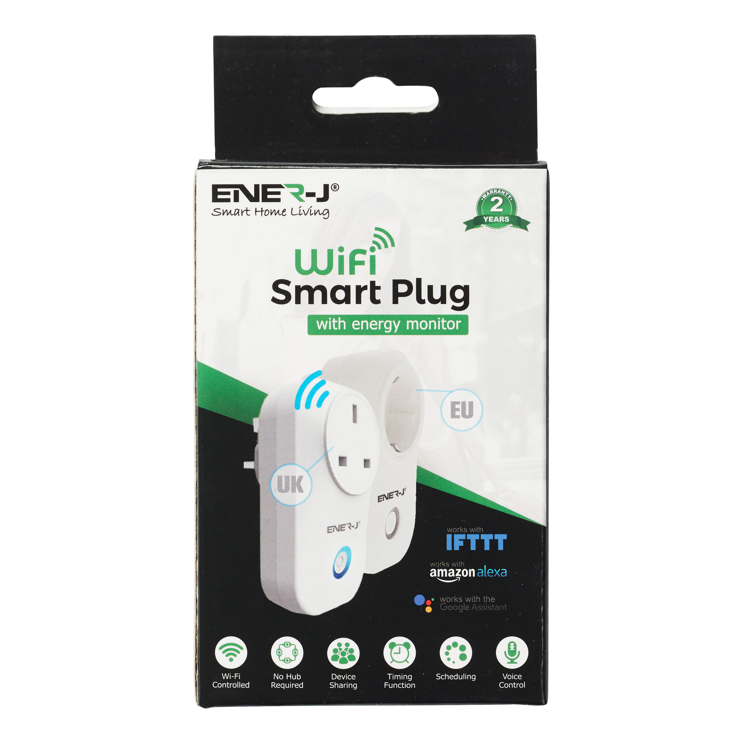 Electrical extension cable Ener-J WiFi Smart Plug Ref SHA5264