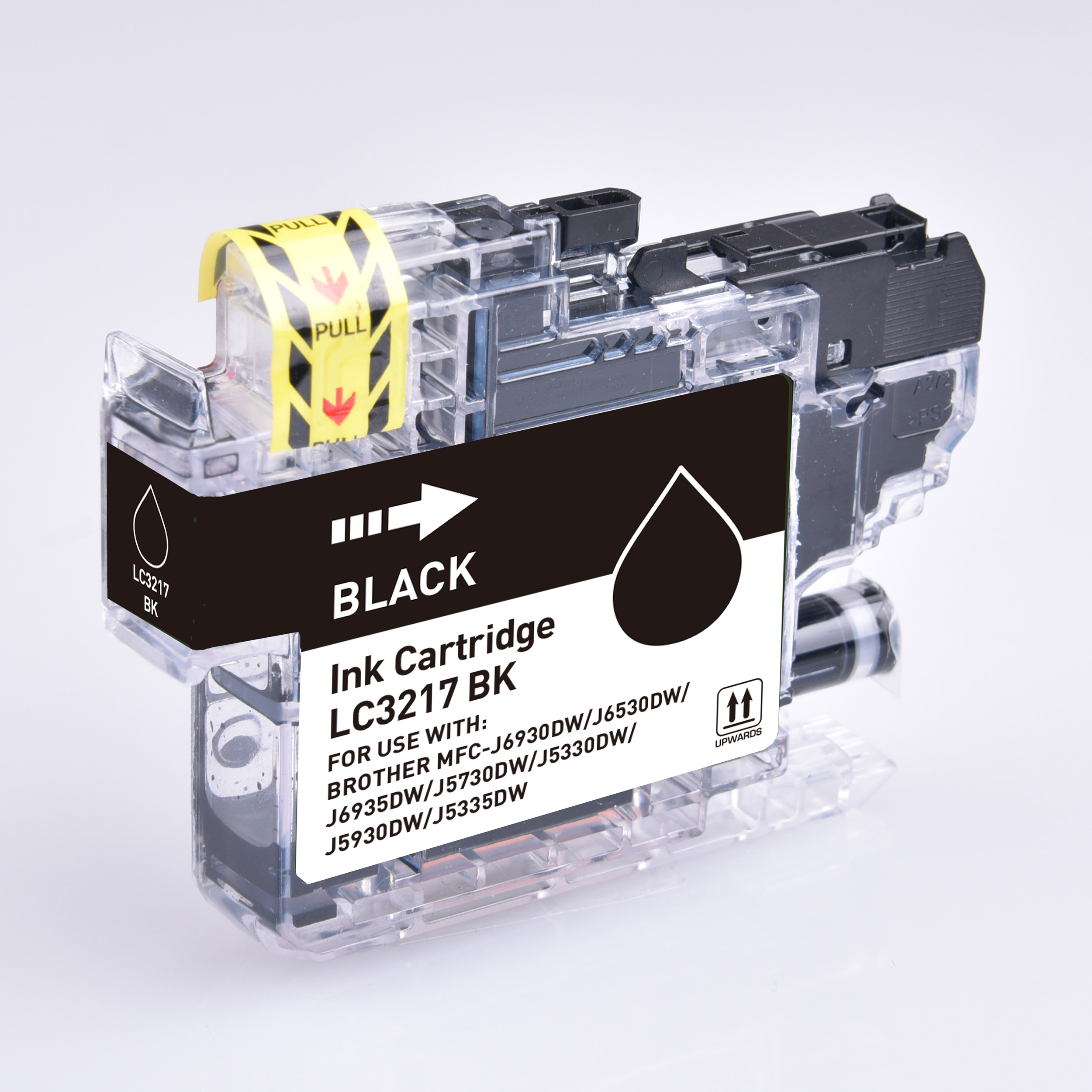 Ink cartridges 5 Star Value Remanufactured Inkjet Cartridge Page Life 550pp Black Brother LC3217BK Alternative