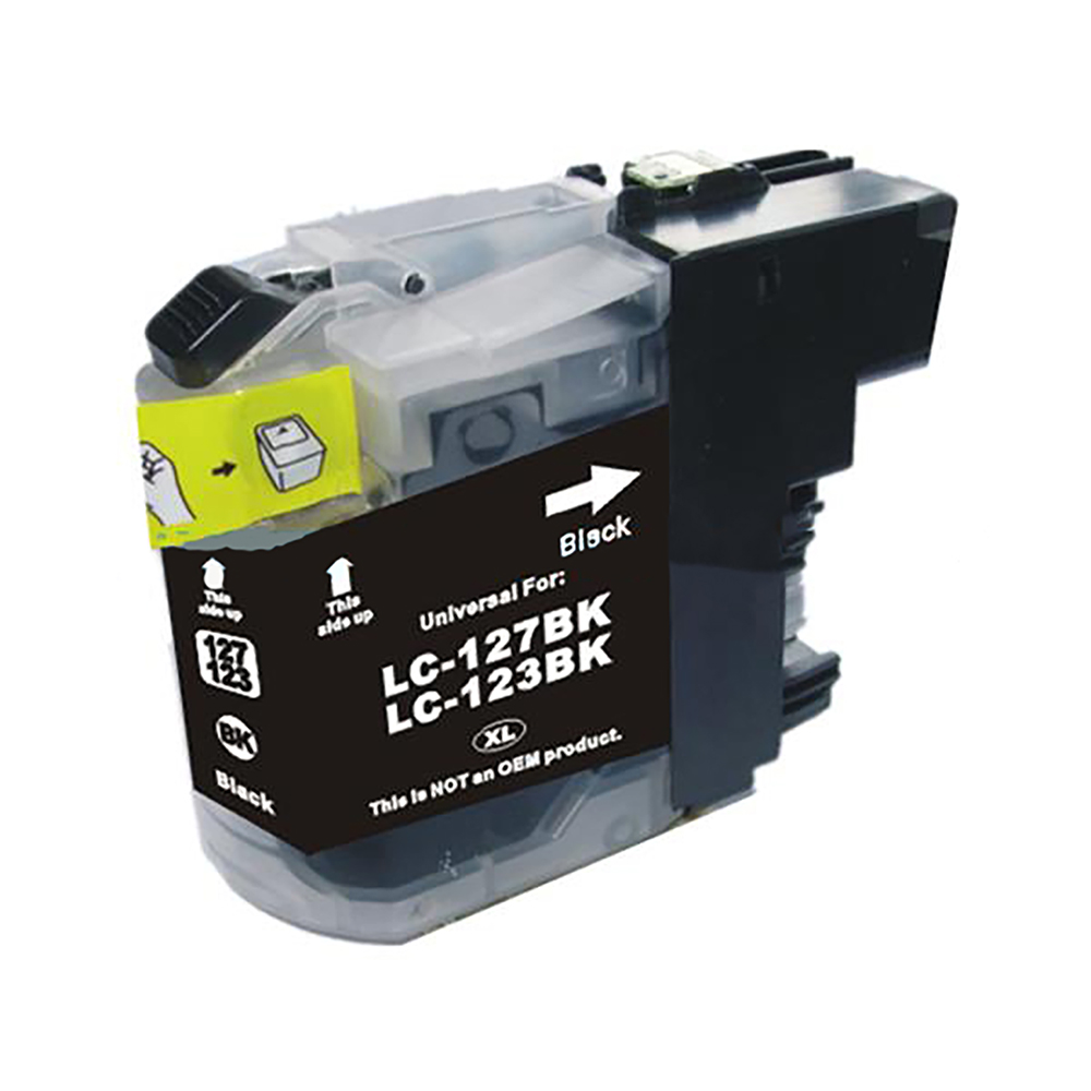 Ink cartridges 5 Star Value Remanufactured Inkjet Cartridge Page Life 600pp Black Brother LC123BK Alternative
