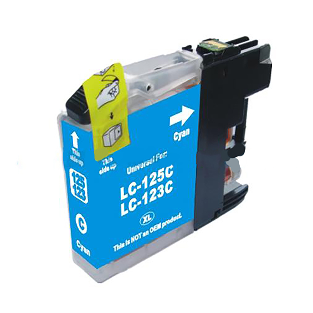 Ink cartridges 5 Star Value  Remanufactured Inkjet Cartridge Page Life 600pp Cyan Brother LC123C Alternative
