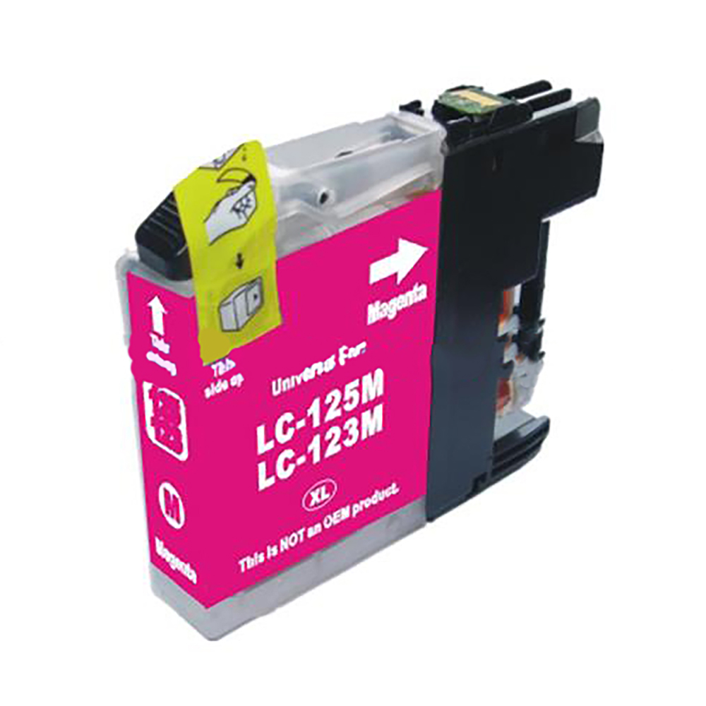 Ink cartridges 5 Star Value Remanufactured Inkjet Cartridge Page Life 600pp Magenta Brother LC123M Alternative