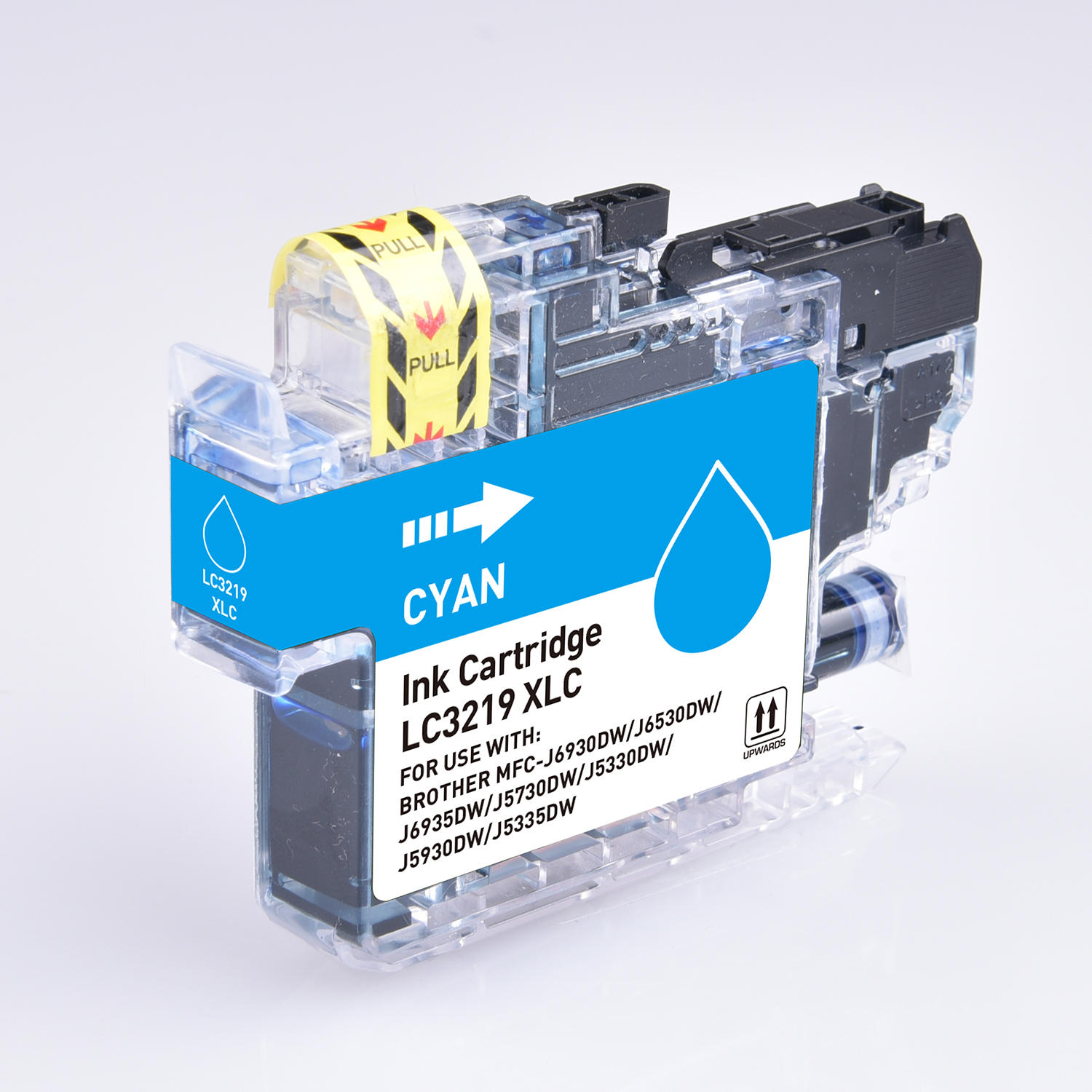 Ink cartridges 5 Star Value Remanufactured Inkjet Cartridge Page Life 1500pp HY Cyan Brother LC3219XLC Alternative