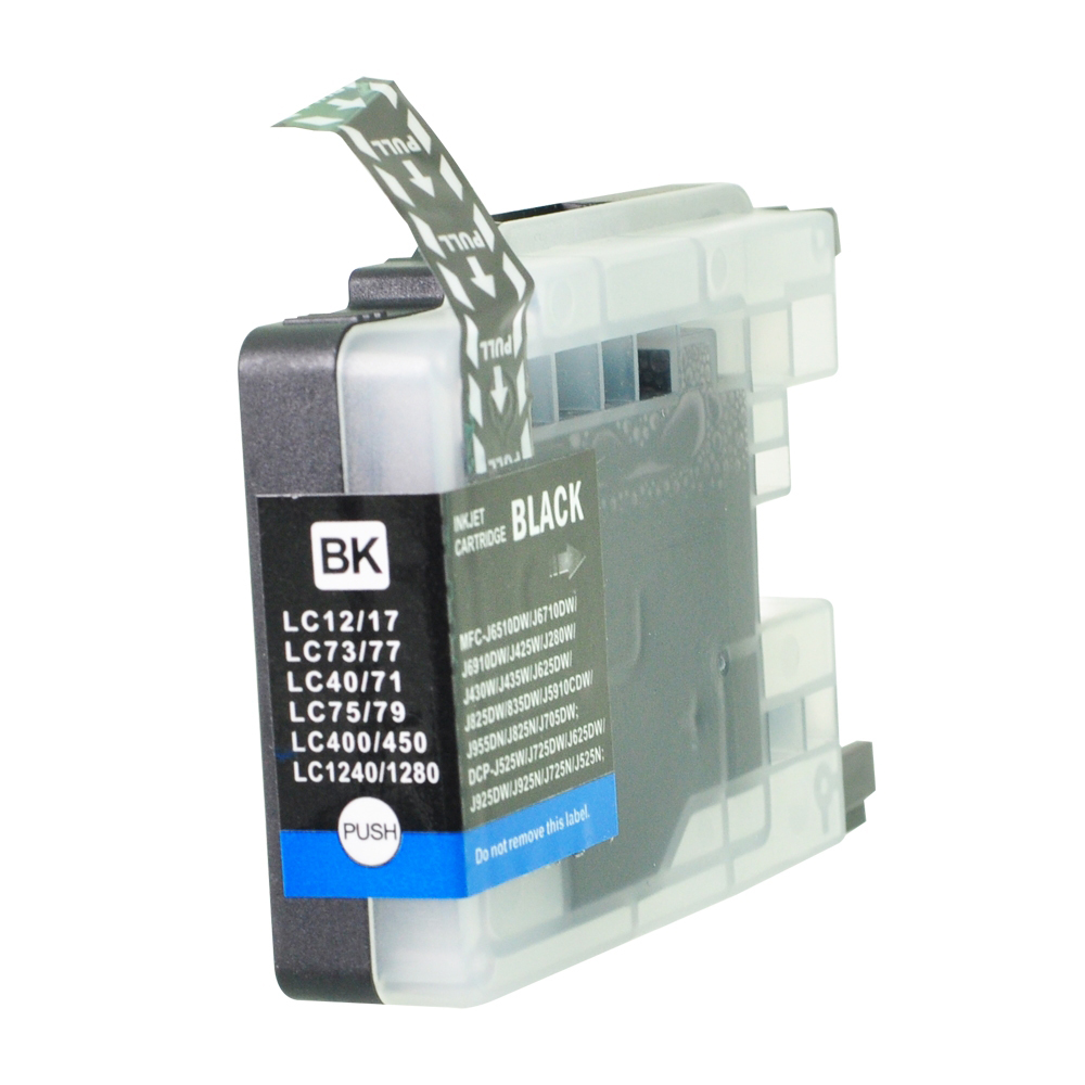 Ink cartridges 5 Star Value Remanufactured Inkjet Cartridge Page Life 2400pp HY Black Brother LC1280XLBK Alternative