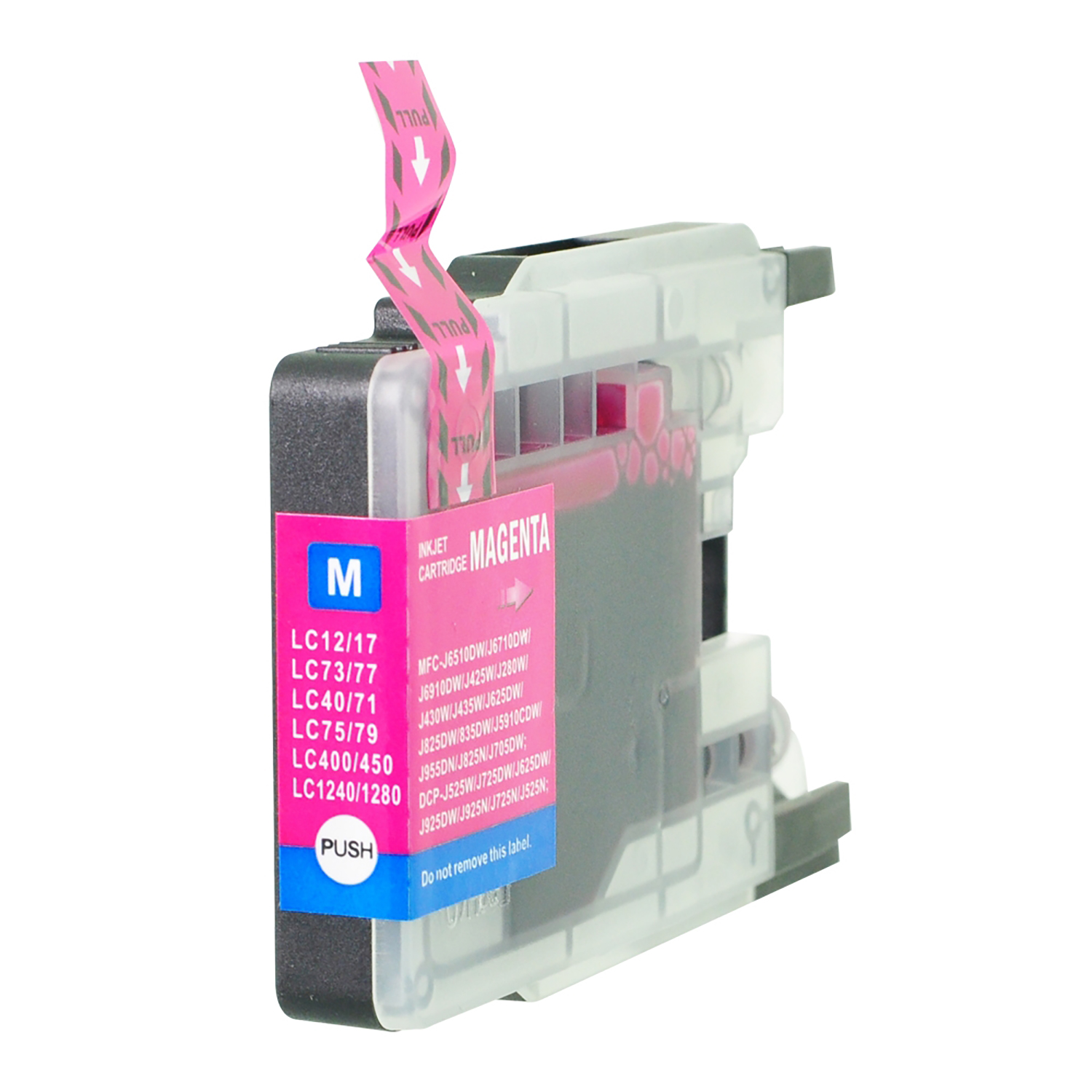 Ink cartridges 5 Star Value Remanufactured Inkjet Cartridge Page Life 1200pp HY Magenta Brother LC1280XLM Alternative
