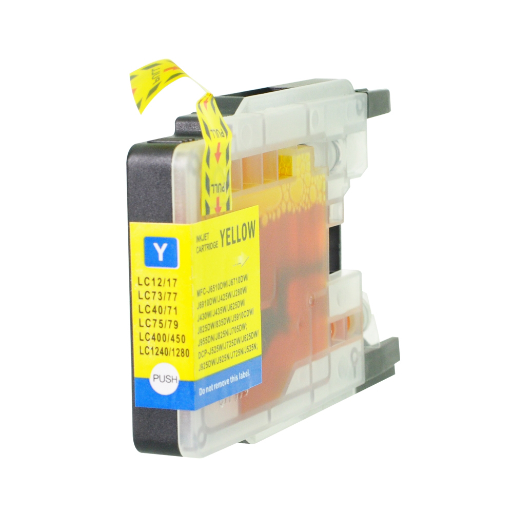 Ink cartridges 5 Star Value Remanufactured Inkjet Cartridge Page Life 1200 HY Yellow Brother LC1280XLY Alternative