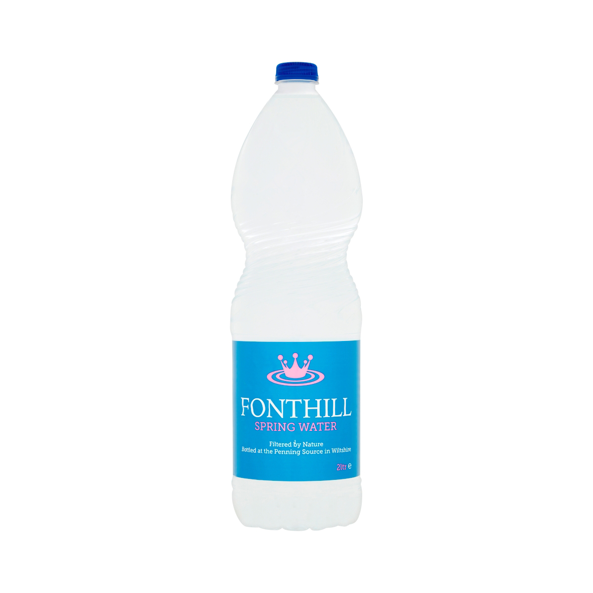 Fonthill Still Spring Water PET Plastic Bottle 2 Litre Ref FON2L6MP [Pack 6]