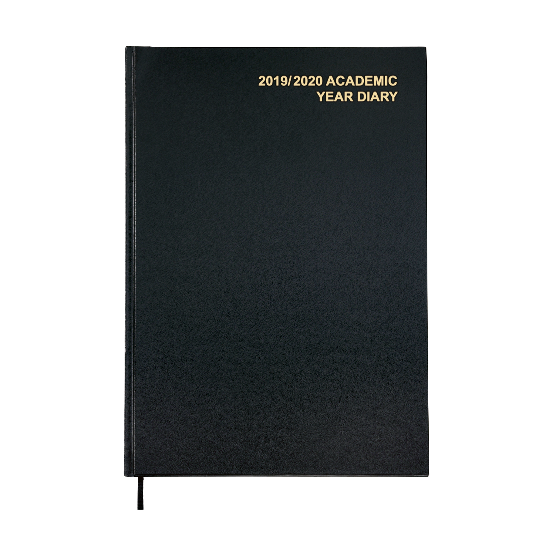 5 Star Office 2019/20 Academic Diary August-August Week-to-View A4 Black