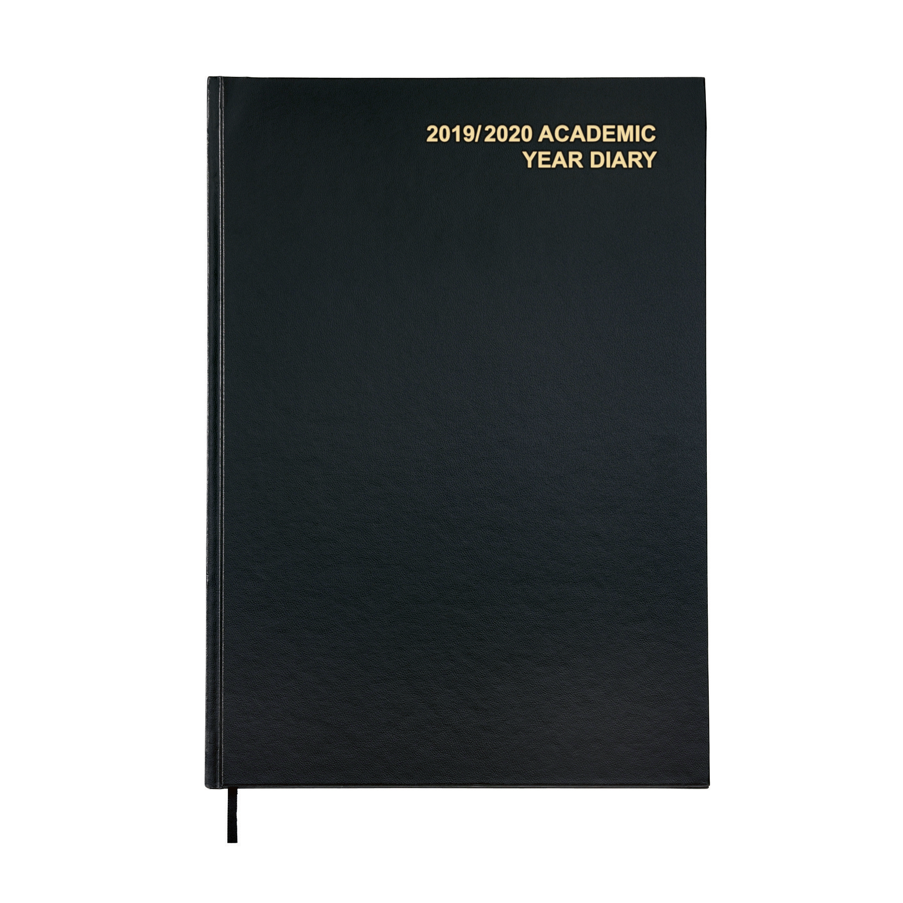 Diaries 5 Star Office 2019/20 Academic Diary August-August Day-to-Page A4 Black