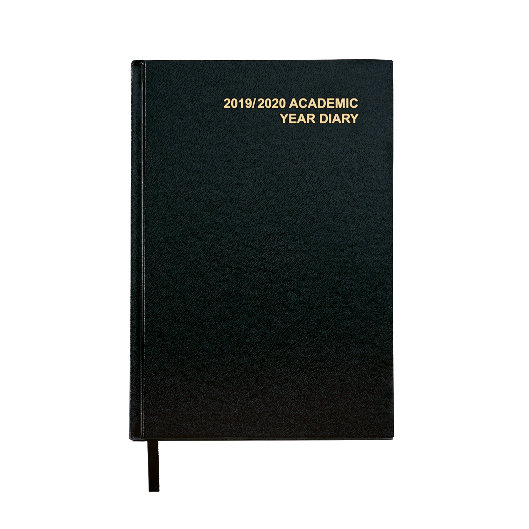 5 Star Office 2019/20 Academic Diary August-August Day-to-Page A5 Black