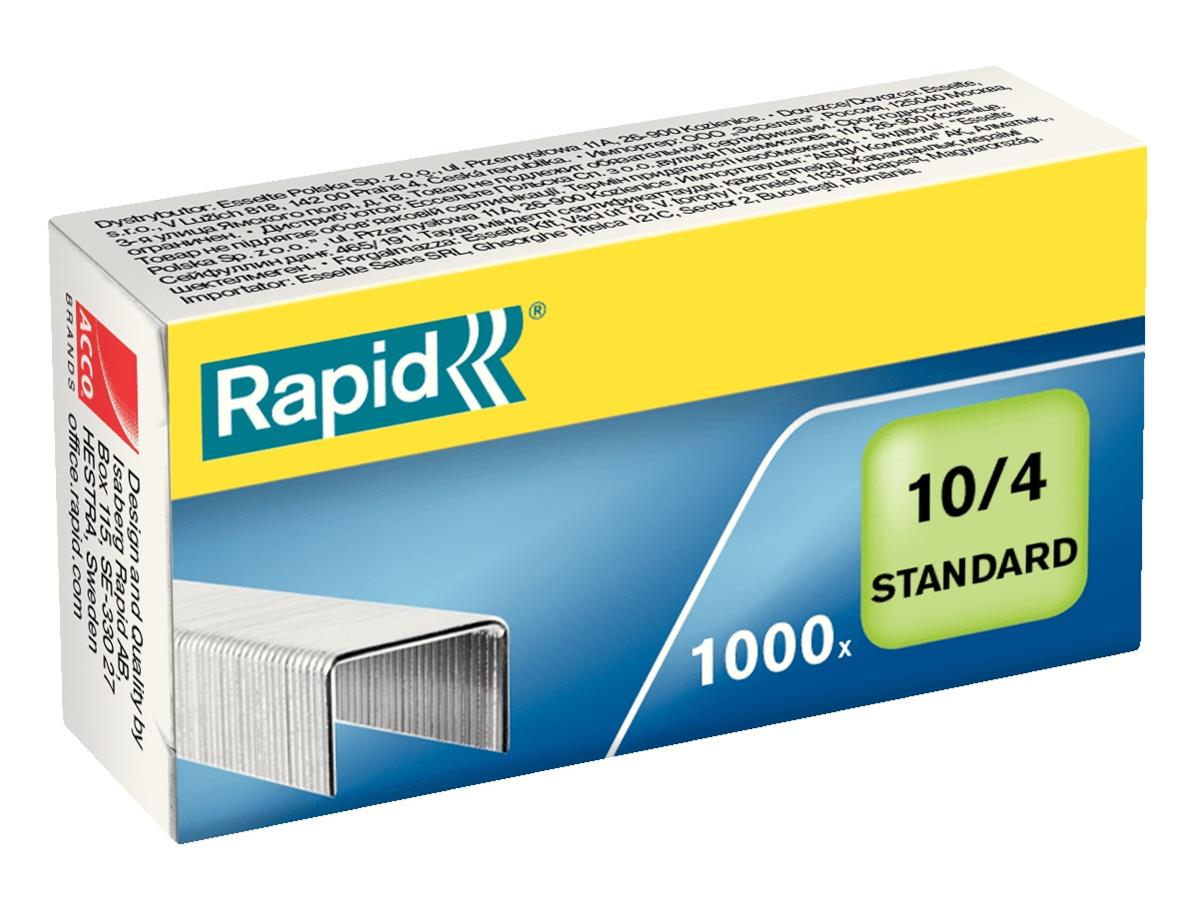 Rapid Staples 10/4mm [Pack 1000] Ref 24862900