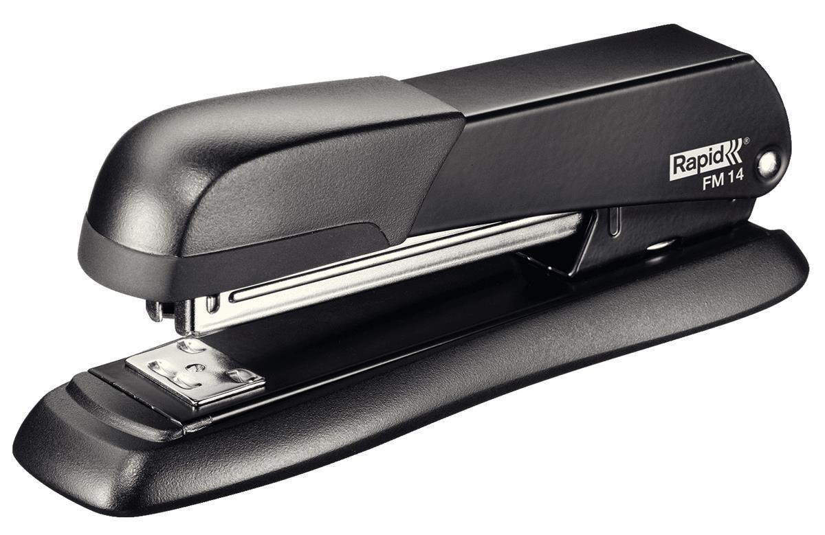Image for Rapid DT FM14 Stapler Full Strip Metal Black Ref 5000278