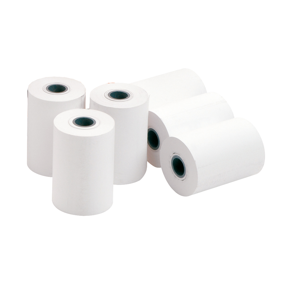 Image for Carbonless Paper Rolls 76x12.5mm Length 30m [Pack 20]