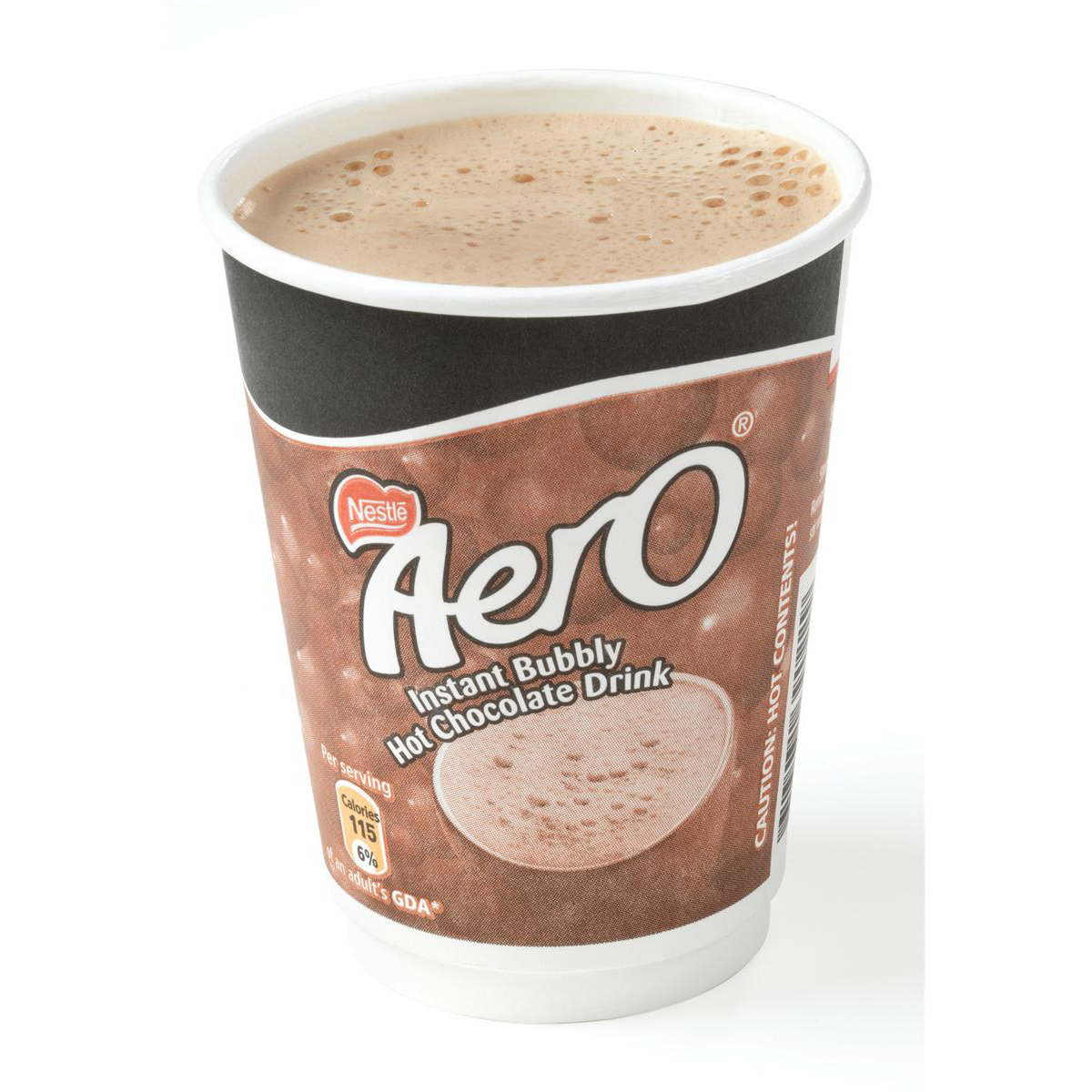 Nescafe & Go Aero Hot Chocolate Foil-sealed Cup for Drinks Machine Ref 12367662 Pack 8
