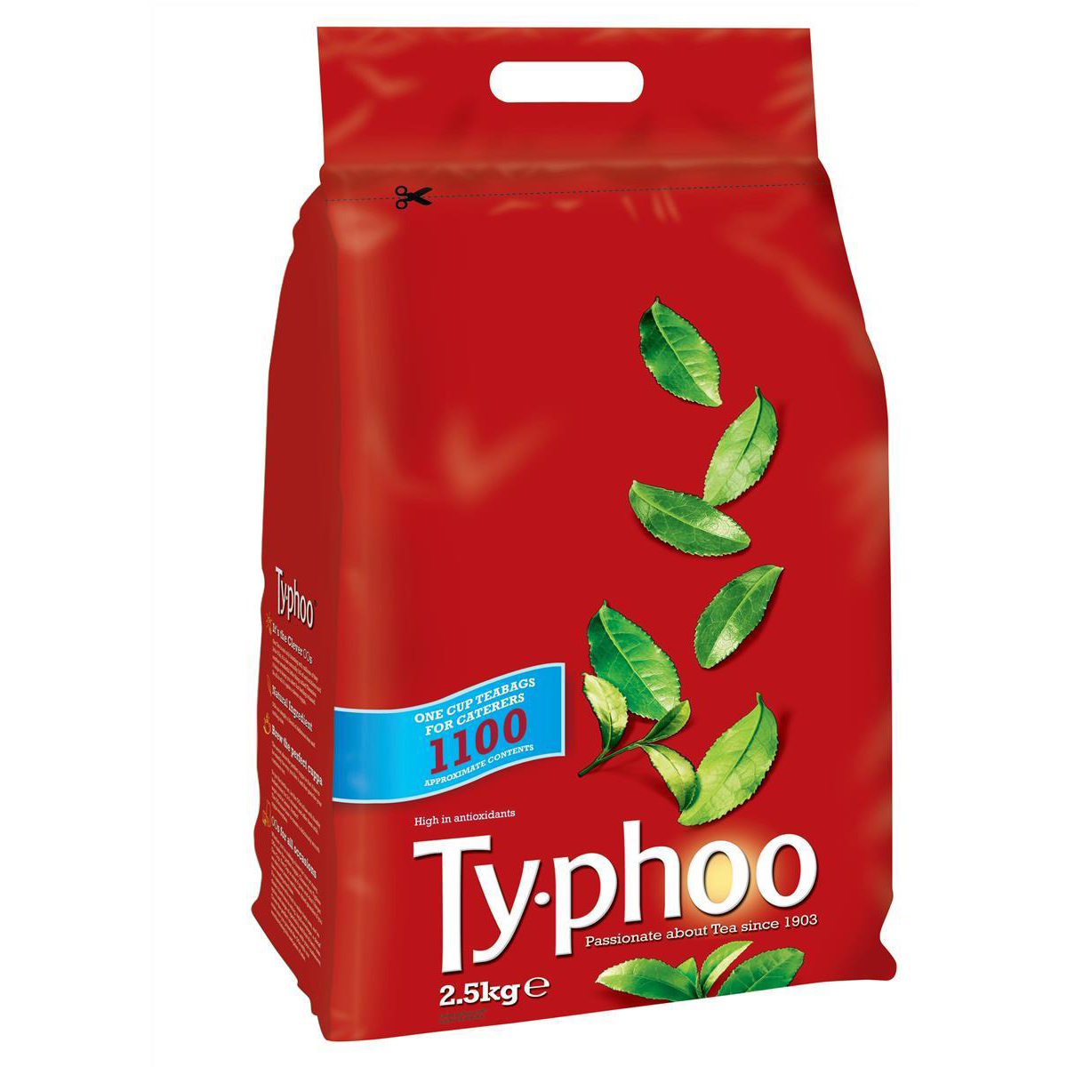Tea Typhoo Tea Bags Vacuum-packed 1 Cup Ref A00786 Pack 1100