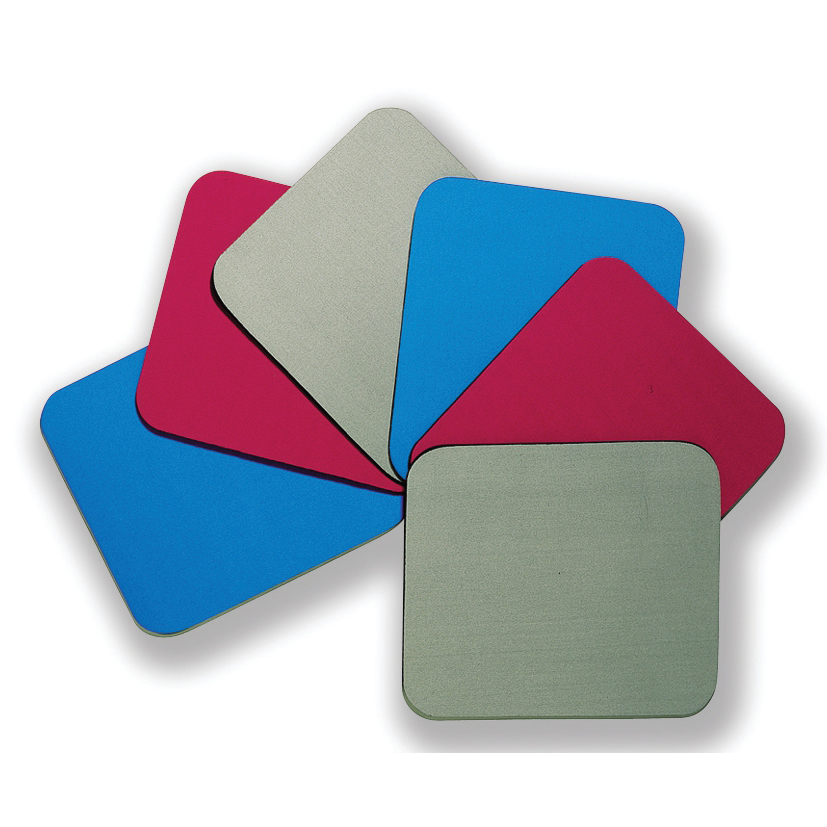 Mouse Mats Fellowes Economy Mousepad Rubber Sponge backing and Non-slip Base Blue Ref 29700