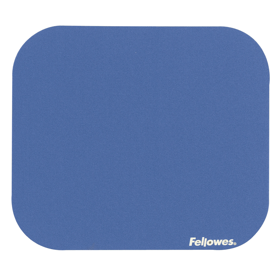 Mouse pads Fellowes Mousepad Solid Colour Blue Ref 58021-06
