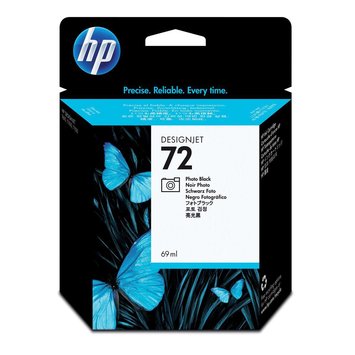 Hewlett Packard [HP] No.72 Inkjet Cartridge 69ml Photo Black Ref C9397A