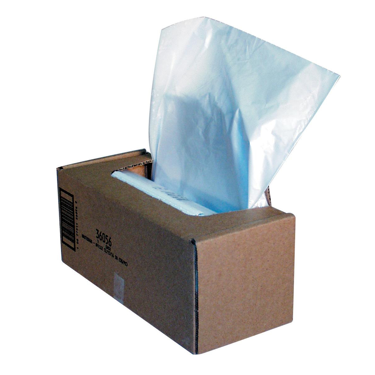 Image for Fellowes Shredder Bags Capacity 94 Litre [for C-320 C-420 Series] Ref 36056 [Pack 50]