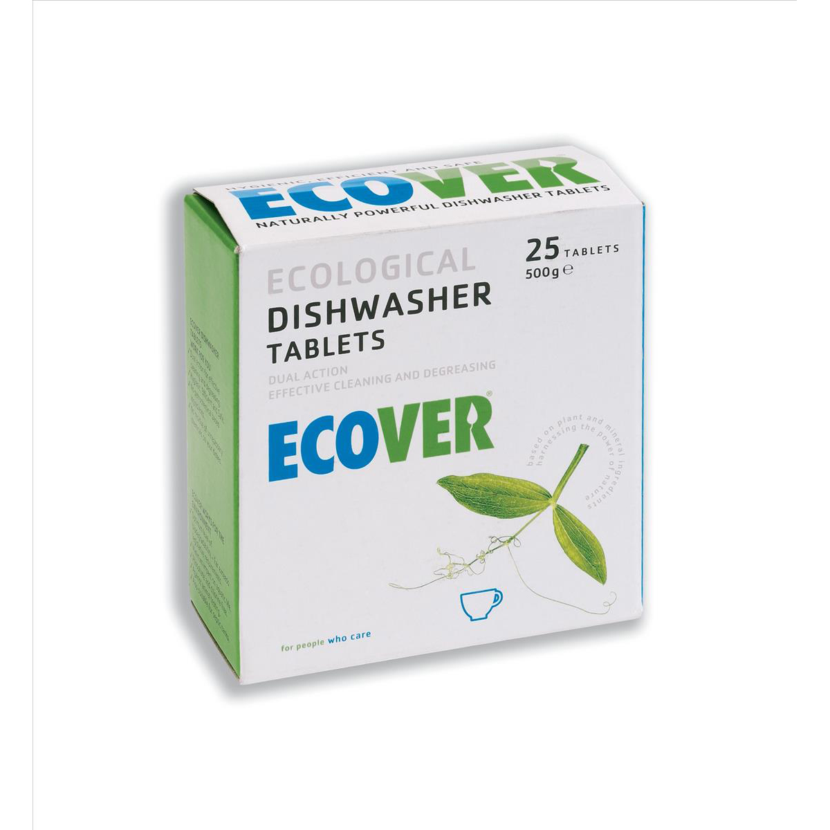 Dishwashing products Ecover Dishwasher Tablets Environmentally-friendly Ref 1002089 Pack 25