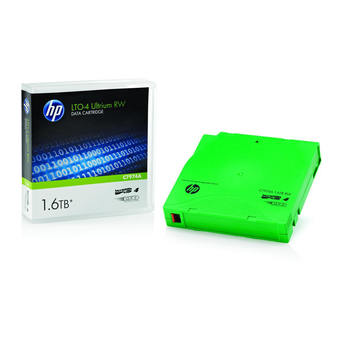 Image for HP LTO4 Ultrium Data Tape Cartridge RW 240 MB/sec 1.6TB Ref C7974A