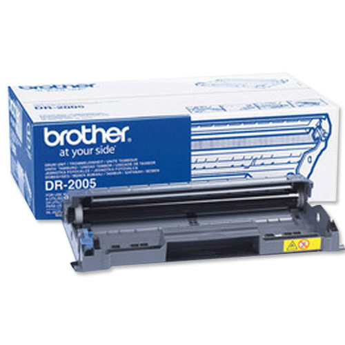 Brother Laser Drum Unit Page Life 12000pp Black Ref DR-2005
