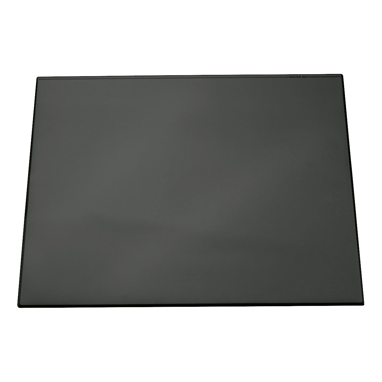Durable Desk Mat with Transparent Overlay W650xD520mm Black Ref 7203/01