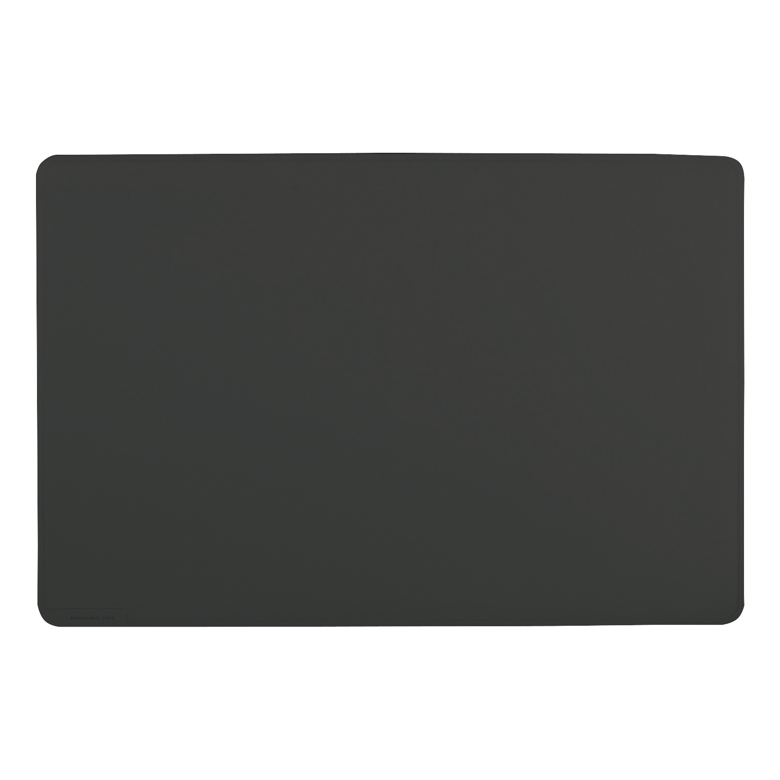 Durable Desk Mat Contoured Edge W650xD520mm Black Ref 7103/01